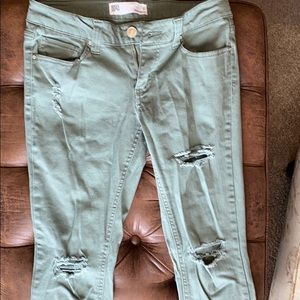 RSQ Jeans - RSQ Olive ankle cut jeans Size 7